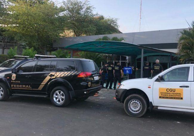 Polícia Federal realiza mega operação na prefeitura de São Luís por suspeitas de desvios de recursos do Coronavírus