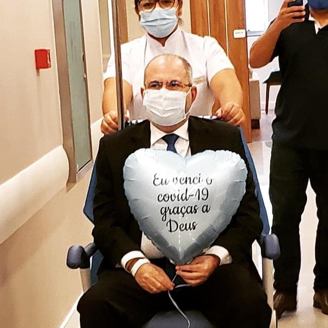 Após 18 dias na UTI, deputado Hildo Rocha recebe alta em Brasília
