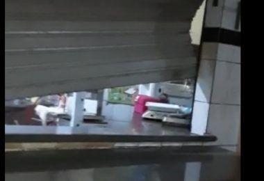 """""""Ladrões"""" entram no mercado da trisidela em Barra do Corda e roubam carne em vários açougues"""