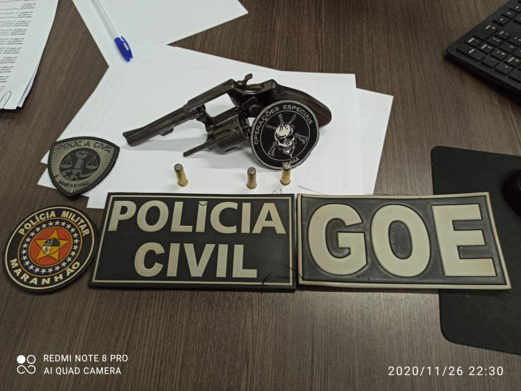 policia militar prende acusado de matar esposa em barra do corda 2 1024x769 - Polícias Militar e Civil prendem acusado de matar esposa em Barra do Corda