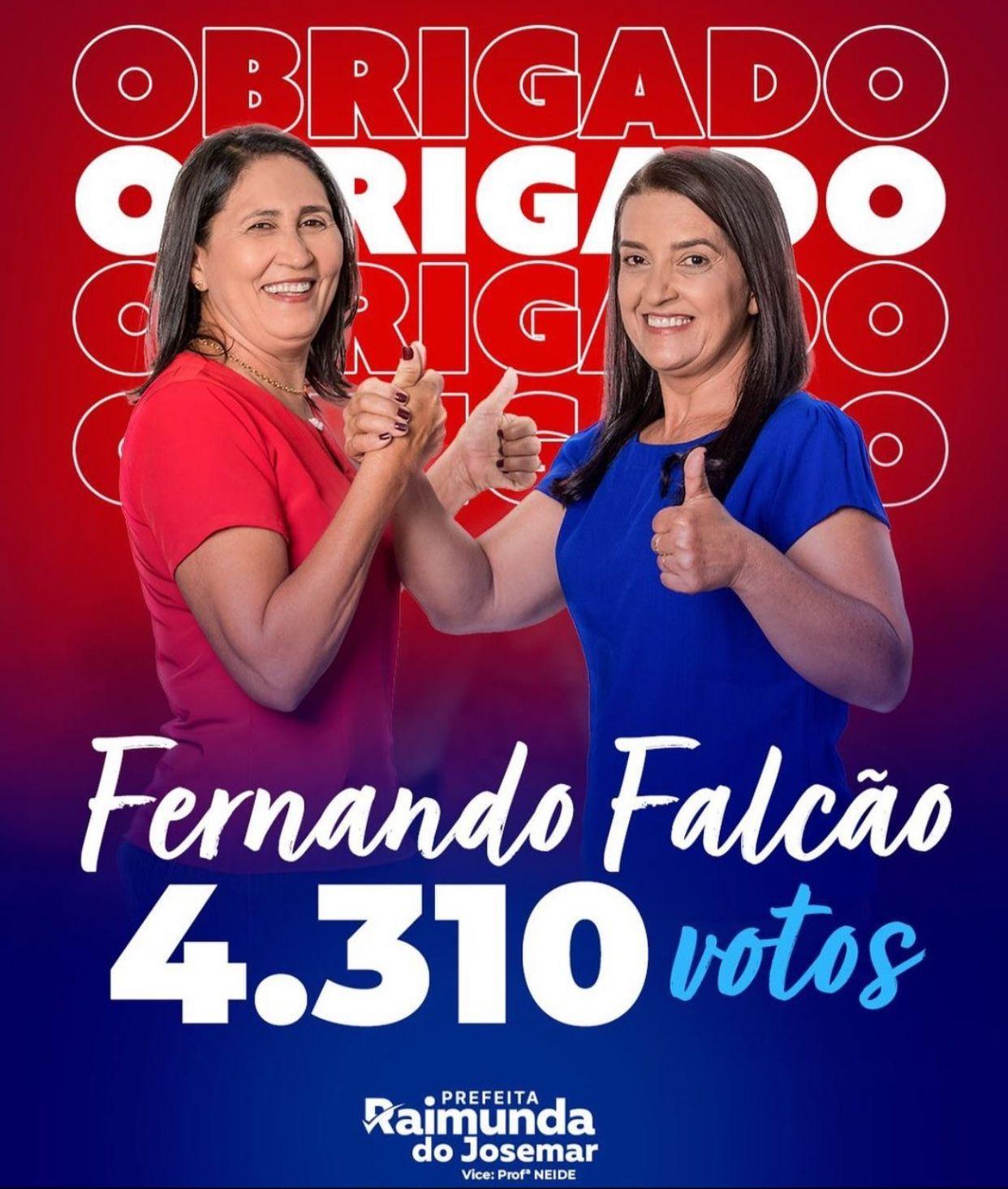Prefeito Adailton mostra força e grupo Cavalcante elege Raimunda do Josemar prefeita de Fernando Falcão