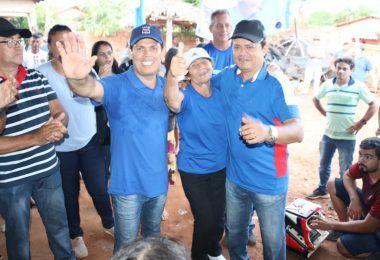Prefeito eleito Rigo Teles visita mais quatro povoados agradecendo os votos que recebeu nas eleições