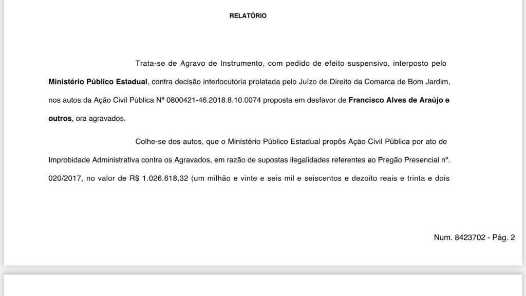 urgente tribunal de justica acaba de afastar do cargo o prefeito de bom jardim no maranhao 1 1024x576 - URGENTE!! Tribunal de Justiça acaba de afastar do cargo o prefeito de Bom Jardim, no Maranhão - minuto barra