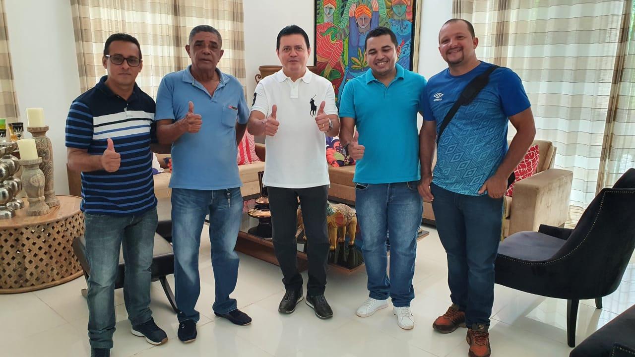 Prefeito eleito Rigo Teles anuncia Dr Carlos para o cargo de secretário de esporte