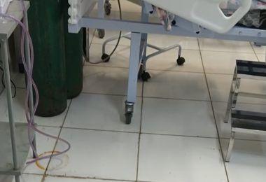 Pacientes da sala vermelha sofrem com goteiras na UPA de Barra do Corda