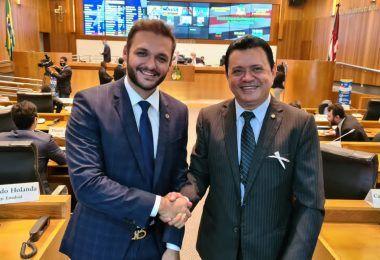 Prefeito eleito de Santa Inês parabeniza Rigo Teles pela vitória esmagadora em Barra do Corda