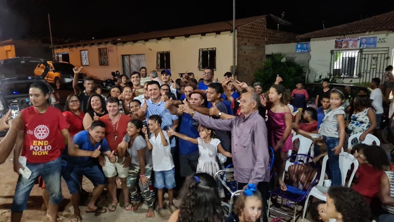 Prefeito eleito Rigo Teles é convidado para um jantar no bairro Vila Mariano II