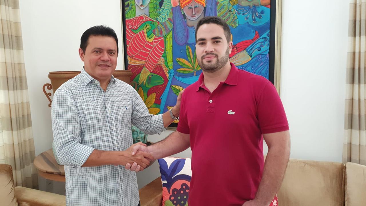 Prefeito eleito Rigo Teles anuncia o engenheiro Felipe Vieira para o cargo de secretário de infraestrutura