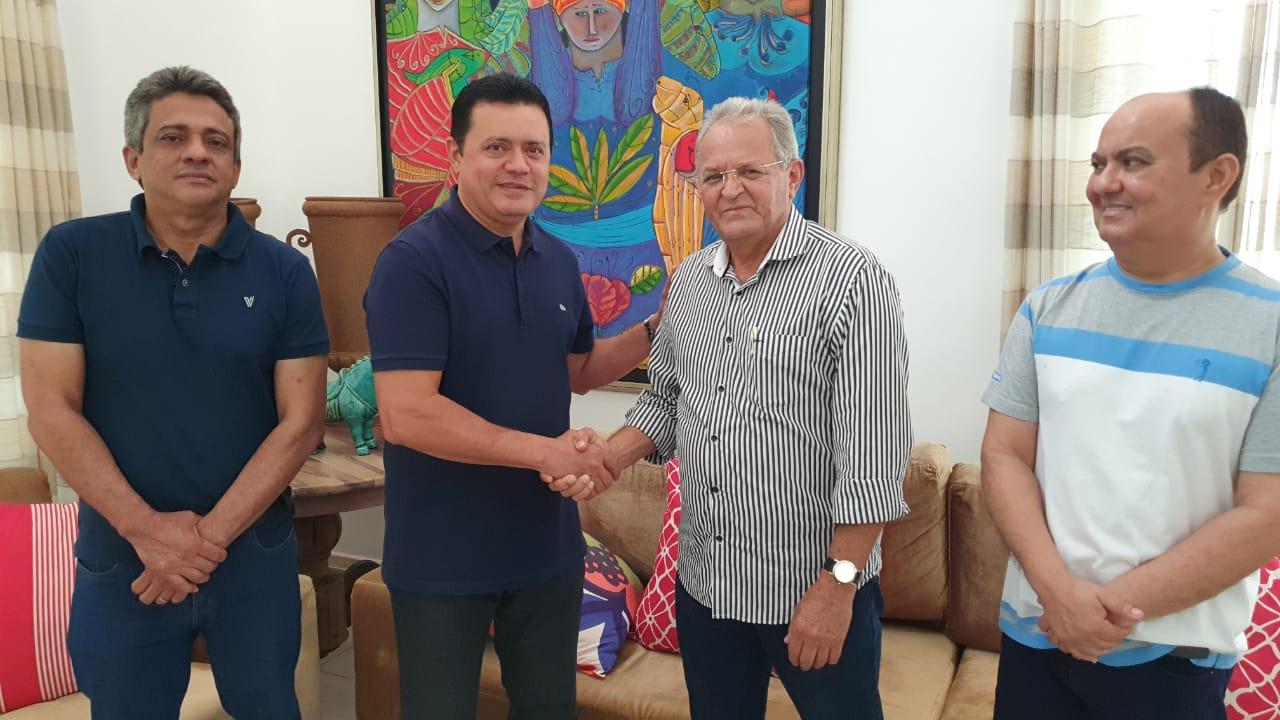 Prefeito eleito Rigo Teles anuncia o nome de Ornilo Melo para o cargo de secretário-chefe de gabinete