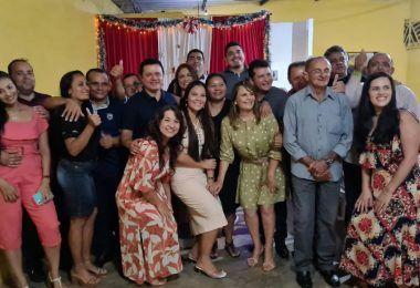 Prefeito eleito Rigo Teles participa de confraternização com vereadores em Barra do Corda