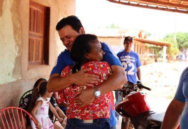 Prefeito eleito Rigo Teles visita povoado Clemente em Barra do Corda e agradece os votos recebidos na eleição