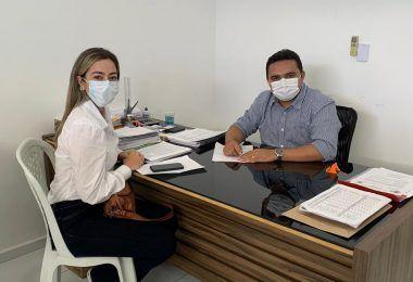 Vanessa Ferry vai a Floriano-PI para conhecer plano de ação no combate ao Coronavírus, referência nacional