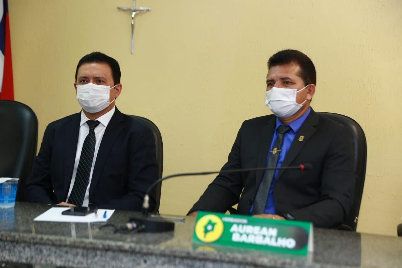Aurean Barbalho é eleito o novo presidente da Câmara Municipal de Barra do Corda
