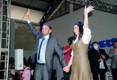 Fernando Pessoa é empossado para o cargo de prefeito de Tuntum aos 29 anos de idade