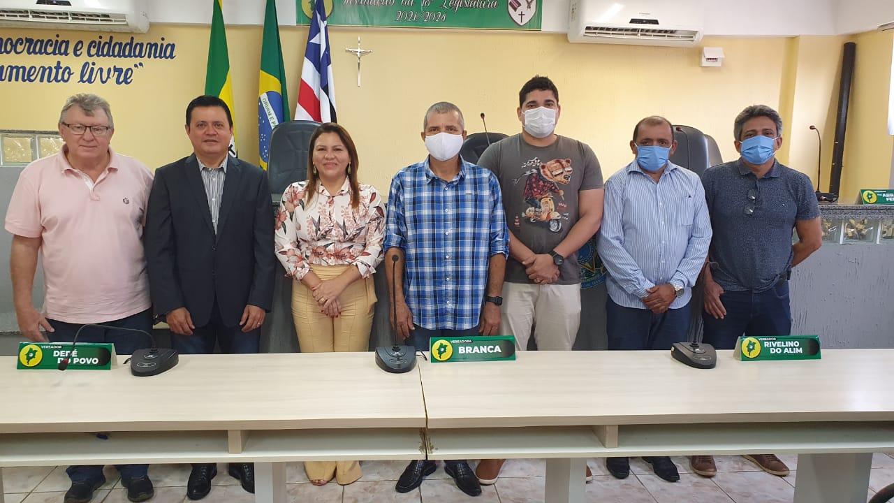 Jaine Milhomem assume o mandato de vereadora na Câmara Municipal de Barra do Corda