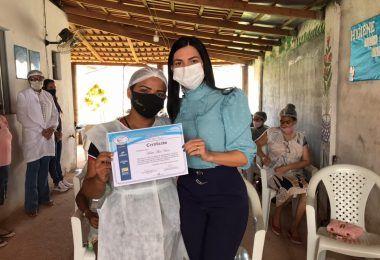 Janaína Ramos realiza várias ações através da Secretaria de Desenvolvimento Social em Imperatriz