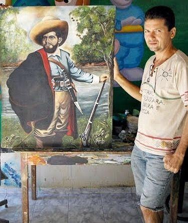 luto morre nesta manha22 aos 55 anos um dos maiores artistas plasticos de barra do corda 2 - LUTO: Morre nesta manhã(22) aos 55 anos um dos maiores artistas plásticos de Barra do Corda