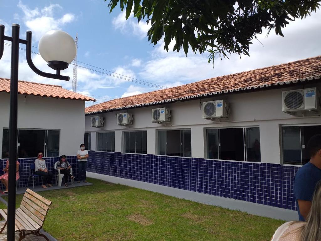prefeito assis ramos inaugura terceira escola apenas no mes de janeiro em imperatriz - Prefeito Assis Ramos inaugura terceira escola em menos de 30 dias em Imperatriz