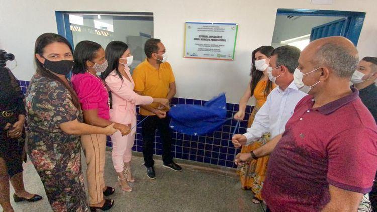 Prefeito Assis Ramos inaugura terceira escola em menos de 30 dias em Imperatriz
