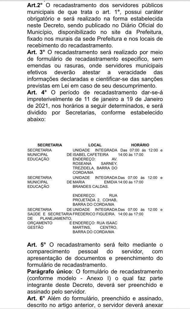 prefeito rigo teles convoca todos os servidores efetivos da prefeitura para recadrastramento 8 630x1024 - Prefeito Rigo Teles convoca todos os servidores efetivos da prefeitura para recadastramento