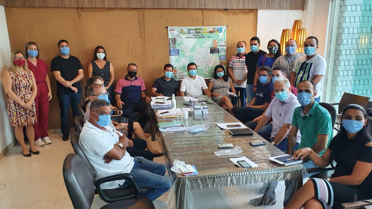 Prefeito Rigo Teles realiza primeira reunião com seu secretariado em Barra do Corda