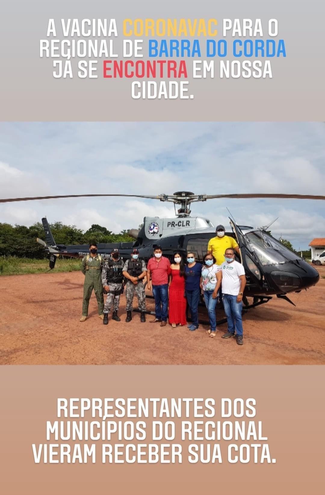 Vacina contra o coronavírus chega em Barra do Corda na manhã desta terça-feira, 19 de janeiro