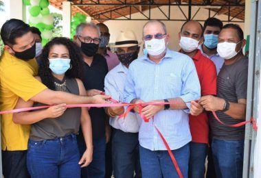 Deputado Hildo Rocha inaugura Fábrica de Farinha administrada por mulheres da comunidade Leite