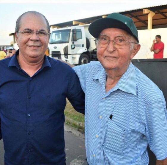 Hildo Rocha lamenta morte do ex-prefeito de Cantanhede, Hilton Rocha