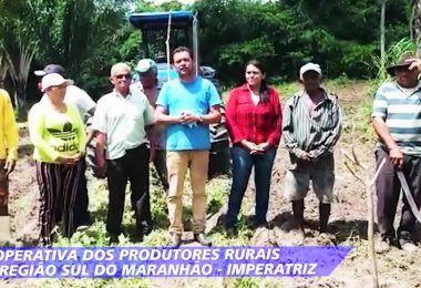 Pequenos produtores rurais de Imperatriz agradecem ajuda do deputado Hildo Rocha