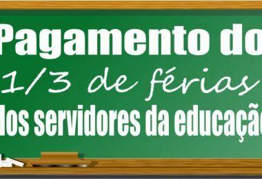 Prefeita Raimunda do Josemar paga terço de férias aos profissionais da educação de Fernando Falcão