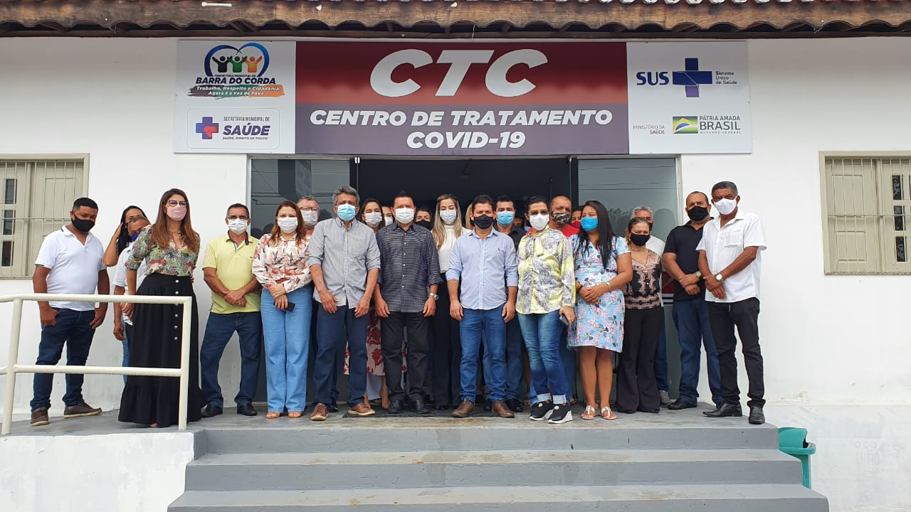 Prefeito Rigo Teles entrega CTC(Centro de Tratamento para Covid) em Barra do Corda