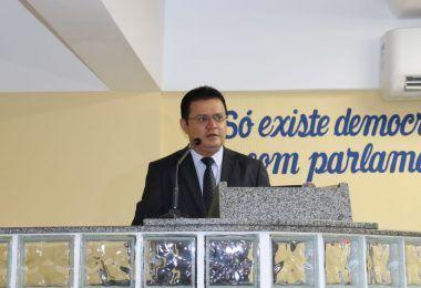 Prefeito Rigo Teles participa da primeira sessão plenária da Câmara Municipal de Barra do Corda
