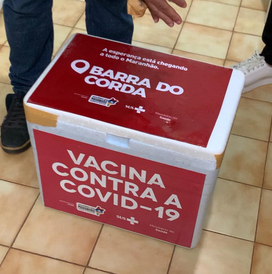 Após equívoco do governo do Maranhão, Barra do Corda volta a receber doses de vacina para combater a covid-19