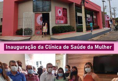 Prefeito Rigo Teles entrega Clínica de Saúde da Mulher, a mais moderna na rede pública de saúde no Maranhão