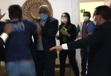 Quebra-pau ocorre entre vereador e esposo de vereadora na câmara municipal de Timon