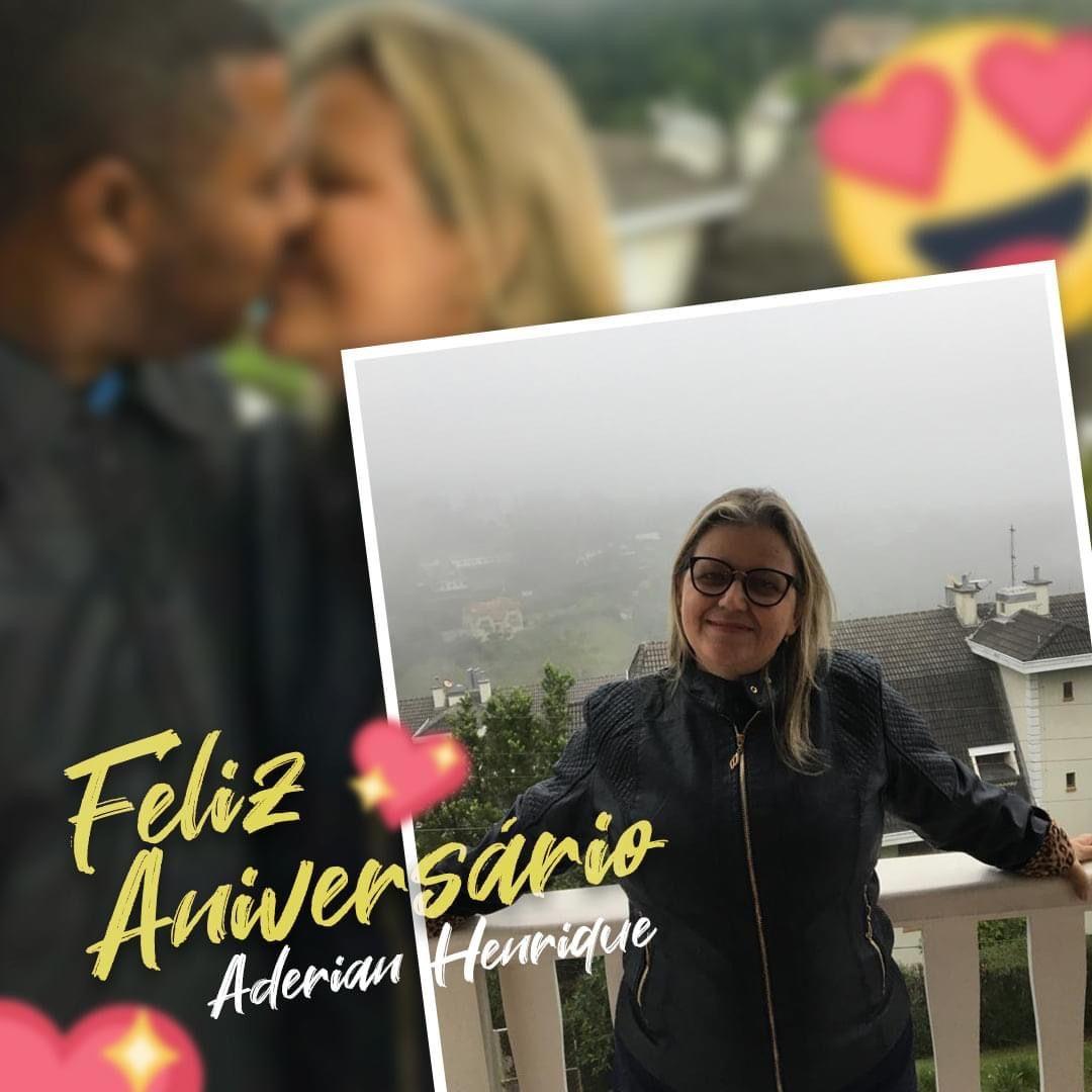 15 DE ABRIL: Feliz Aniversário para a missionária Aderian Henrique, esposa do Pastor Oziel Gomes