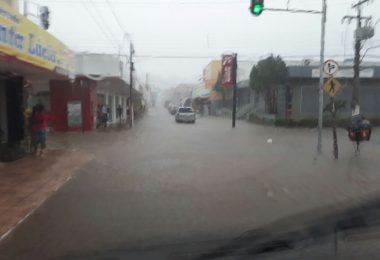 ATENÇÃO!! Instituto Nacional de Meteorologia alerta para chuva perigosa em Barra do Corda