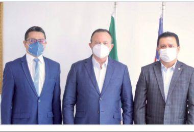 Flávio Dino aceita proposta do prefeito Rigo Teles para o Estado administrar hospital de 50 leitos em Barra do Corda