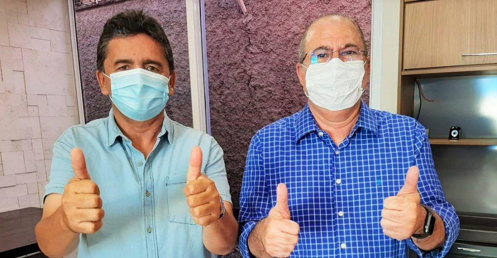 Hildo Rocha e prefeito Zezão reforçam parcerias para o desenvolvimento de Governador Luiz Rocha