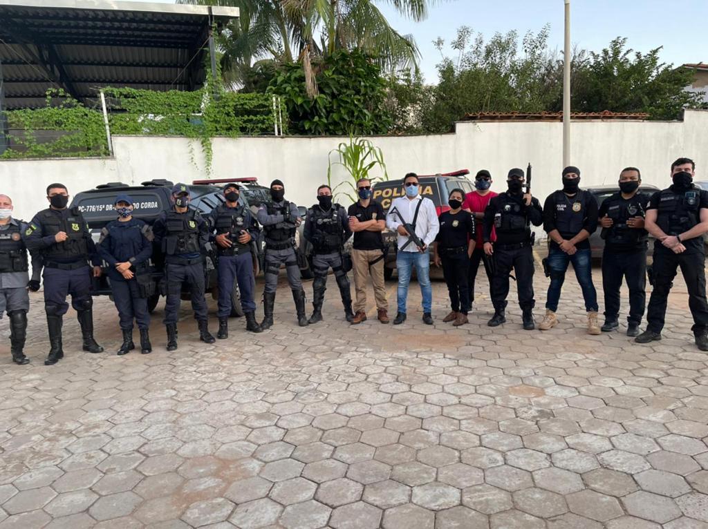 Polícia Civil prende três pessoas por tráfico de drogas e armas ilegais em Barra do Corda