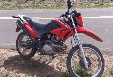 Polícia Militar prende em Jenipapo dos Vieiras homem que trafegava em rodovia com uma motocicleta roubada