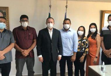 Prefeito Arnóbio se reúne com vice-governador em busca de recursos para saúde e infraestrutura de Jenipapo dos Vieiras