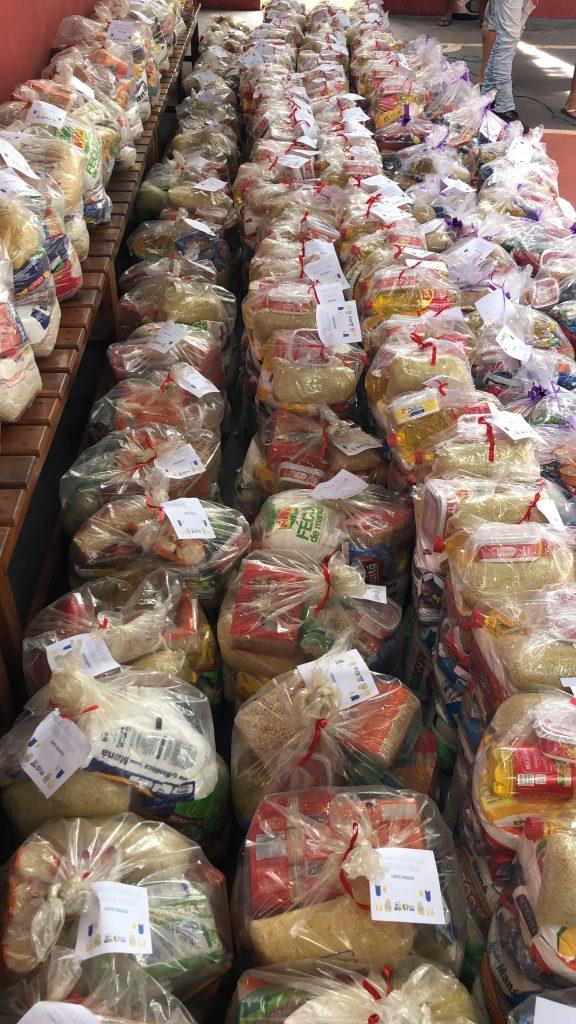 semana santa rigo teles entrega 60 toneladas de alimentos para familias carentes em barra do corda 4 576x1024 - SEMANA SANTA: Rigo Teles entrega 60 toneladas de alimentos para famílias carentes em Barra do Corda