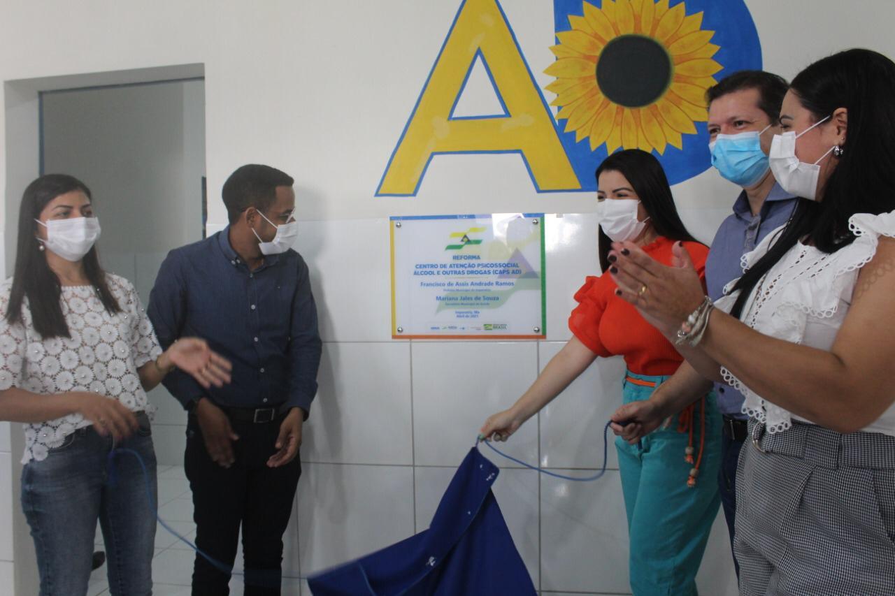 Prefeitura de Imperatriz inaugura segunda parte do Centro de Atenção Psicossocial - Caps