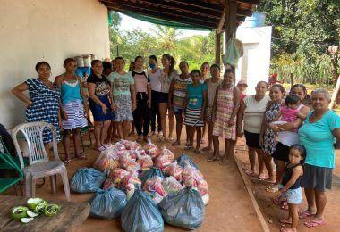 Em Fernando Falcão, prefeita Raimunda do Josemar entrega neste domingo mais de 250 cestas básicas