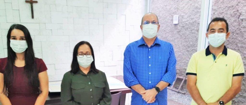 Hildo Rocha, Belezinha e Aluísio definem ações em favor de Chapadinha