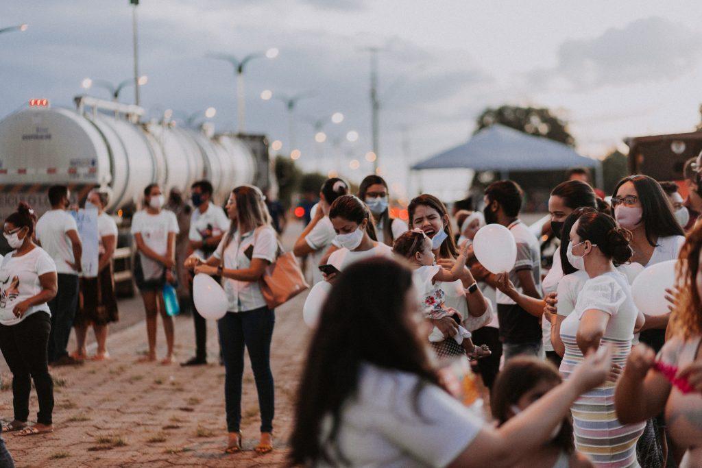 manifestantes pedem justica apos crianca morrer em acidente de transito na cidade de grajau 1 1024x683 - Manifestantes pedem justiça após criança morrer em acidente de transito na cidade de Grajaú