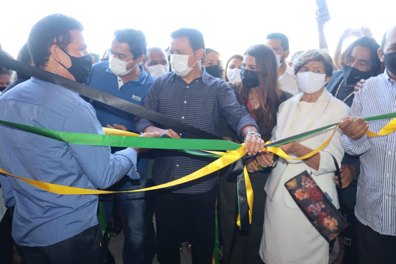 Prefeito Rigo Teles reinaugura Centro de Abastecimento Manoel Mariano de Sousa