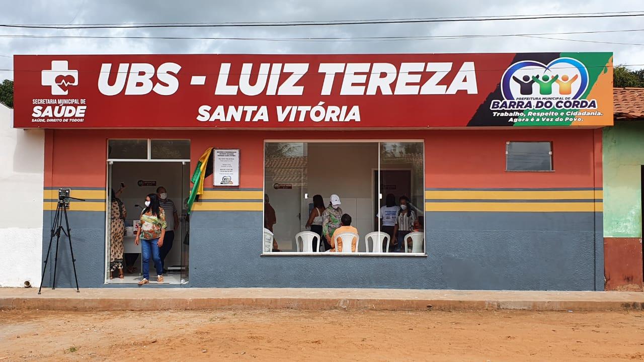 Prefeito Rigo Teles reinaugura Posto de Saúde do Povoado Santa Vitória