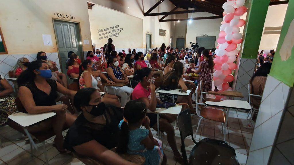 primeira dama abiagil cunha promove festa em comemoracao ao dia das maes na zona rural de barra do corda 10 1024x576 - Primeira-dama Abigail Cunha promove festa em comemoração ao dia das mães na zona rural de Barra do Corda